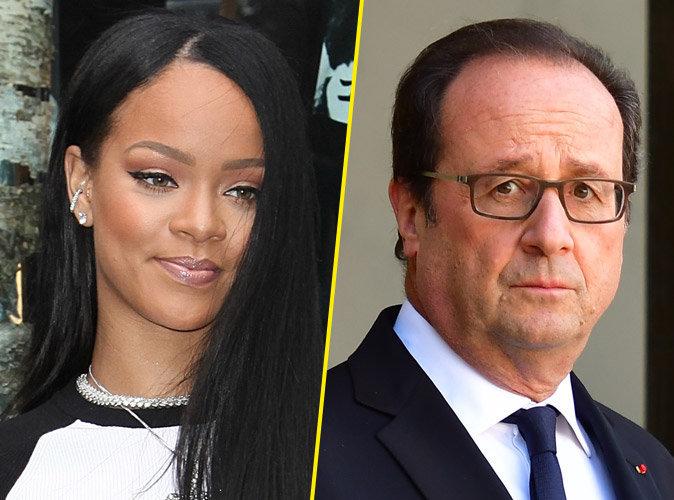 La lettre de François Hollande à Rihanna dévoilée