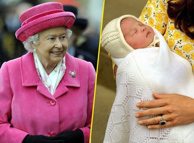 La reine Elizabeth II a enfin rencontré la princesse Charlotte !