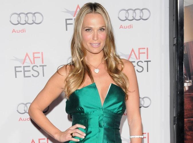 La superbe Molly Sims, ancienne star de la série Las Vegas, s'est fiancée !