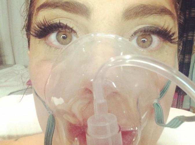 Lady Gaga : hospitalisée, elle n'en oublie pas pour autant son maquillage !