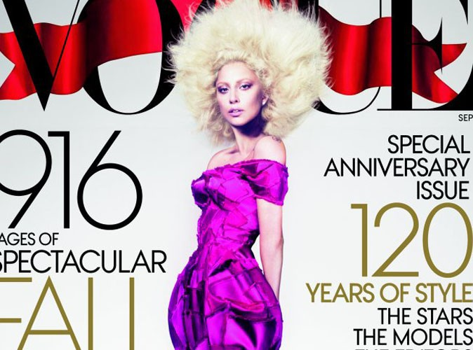 Lady Gaga : la mother monster en couverture de Vogue !