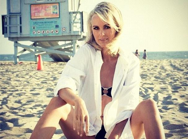 Laeticia Hallyday : de retour sur les plages de Malibu !