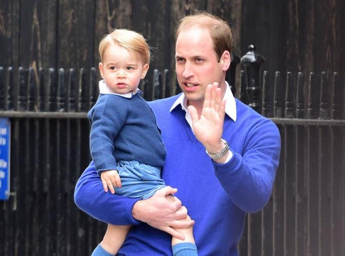 Le prince George : un grand frère comblé !