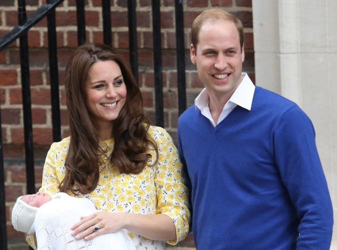 Le royal baby est complétement timbré !