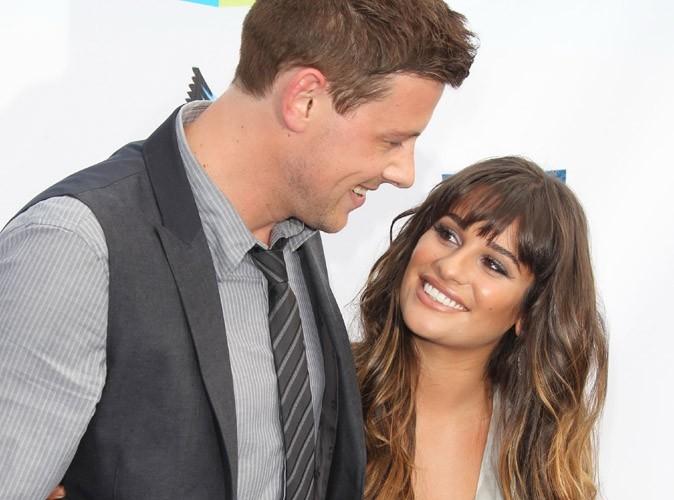 """Lea Michele : """"J'aime et je soutiens Cory (Monteith) """" !"""