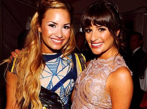Lea Michele : très contente pour Demi Lovato !