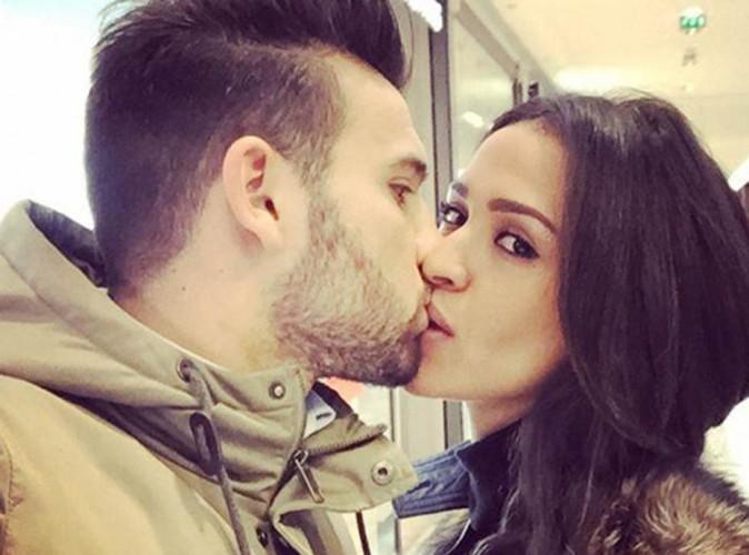 Leïla Ben Khalifa et Aymeric Bonnery : un doux bisou avant la séparation...