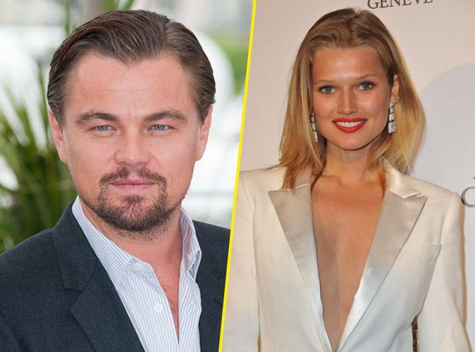 Leonardo DiCaprio : soupe de langues avec sa chérie Toni Garrn !