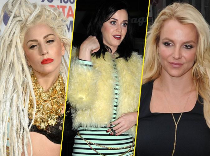 La guerre des chanteuses pop : Lady Gaga, Katy Perry et Britney Spears
