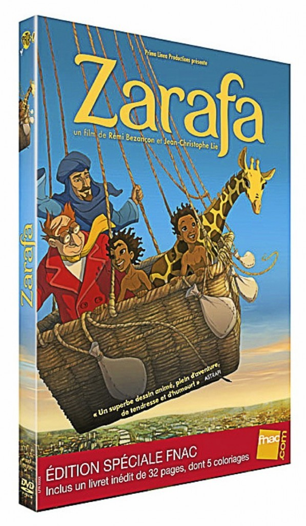 Zarafa, DVD Fox Pathé. 19,99 €.