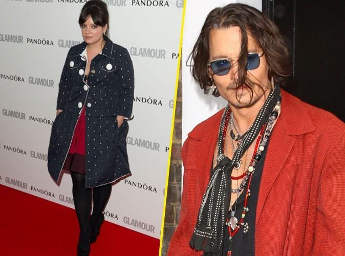 Lily Allen : aurait-elle des vues sur Johnny Depp ?