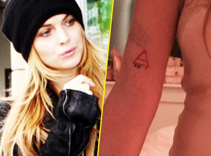 Lindsay Lohan : découvrez son huitième tatouage !