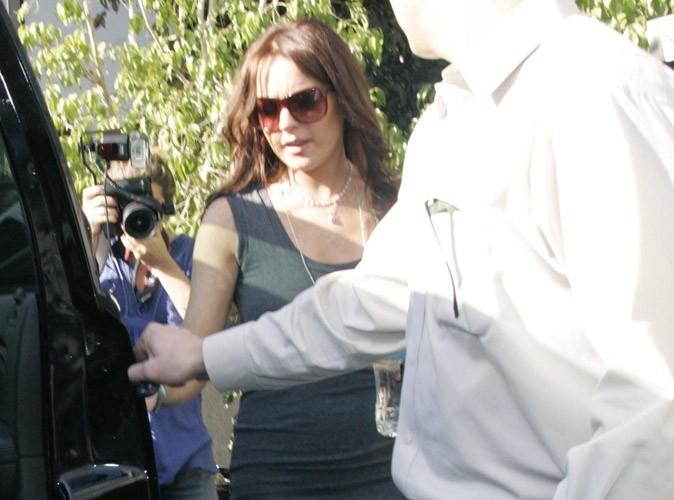 Lindsay Lohan, effrayée, elle fuit son père !
