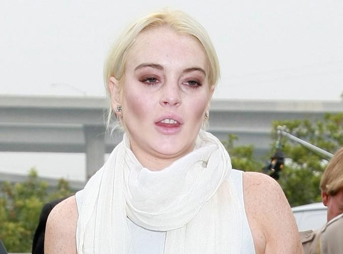 Lindsay Lohan : elle arrive en retard à son service et se fait renvoyer !