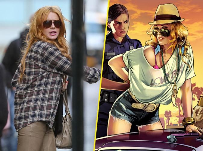 Lindsay Lohan : elle attaque le jeu vidéo GTA 5 en Justice !