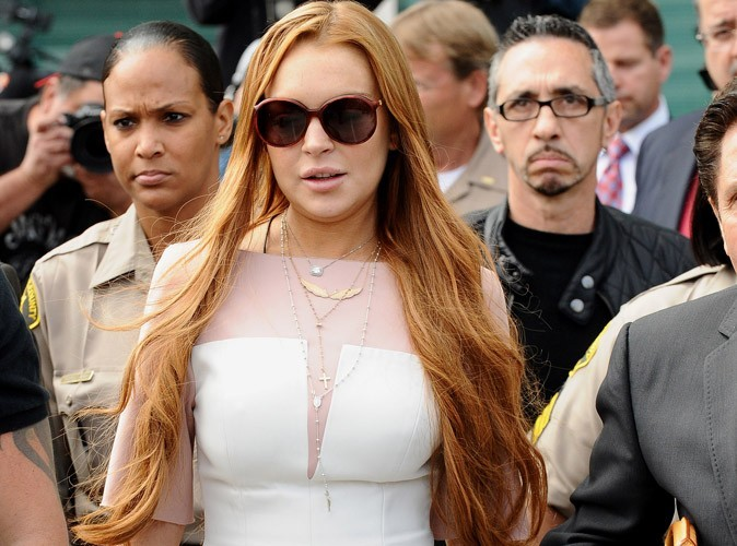 Lindsay Lohan : elle écope de 90 jours de réhab !