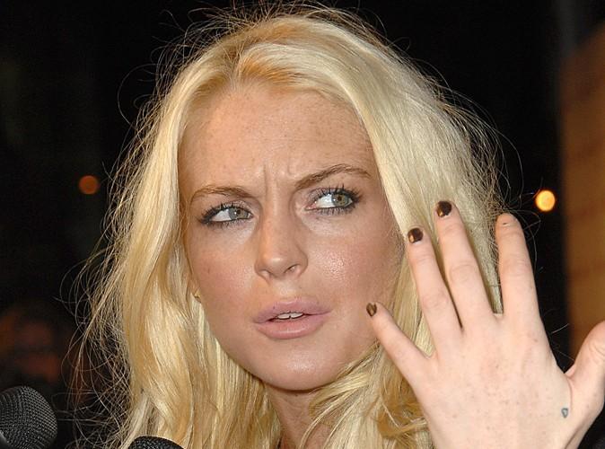 Lindsay Lohan : elle oublie encore son soutien gorge !