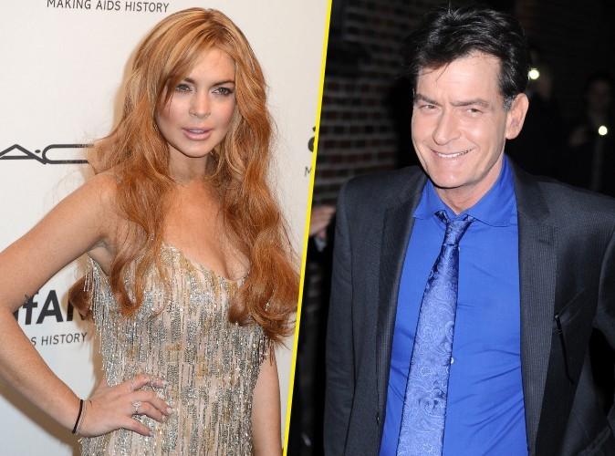 Lindsay Lohan : elle refuse la main tendue par Charlie Sheen et lui demande de la fermer !