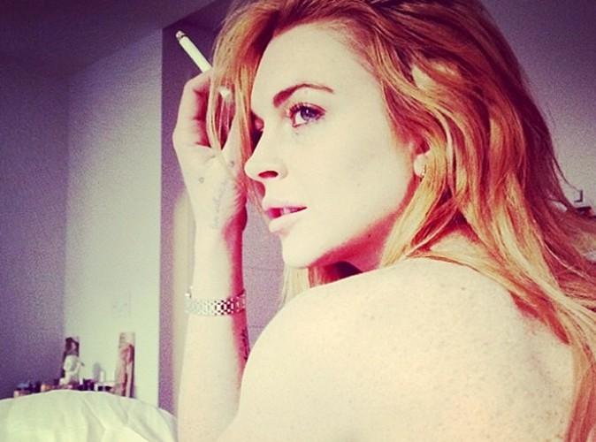 Lindsay Lohan : la starlette s'affiche topless !