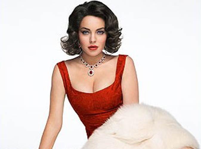 """Lindsay Lohan : parfaite en Elizabeth Taylor dans le premier cliché officiel de """"Liz & Dick"""" !"""