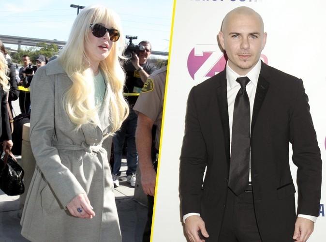 Lindsay Lohan : Pitbull contre-attaque !
