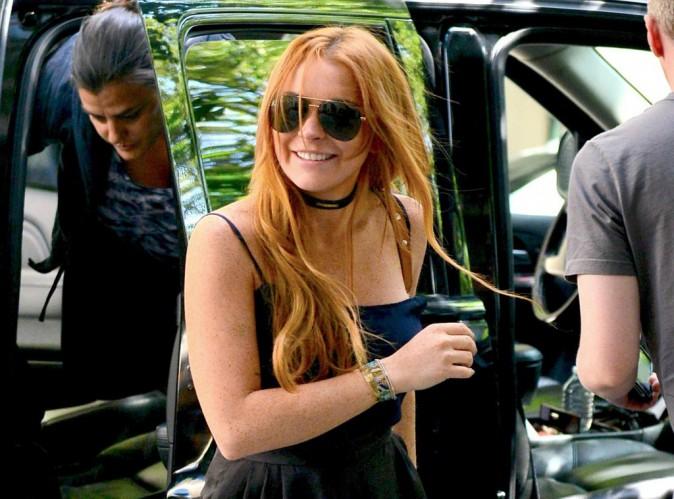 """Lindsay Lohan répond à la polémique:"""" Je n'ai jamais confirmé ma présence !"""""""