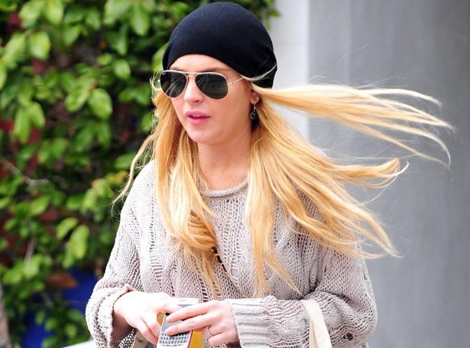 Lindsay Lohan : un bon samaritain lui rend son téléphone portable !