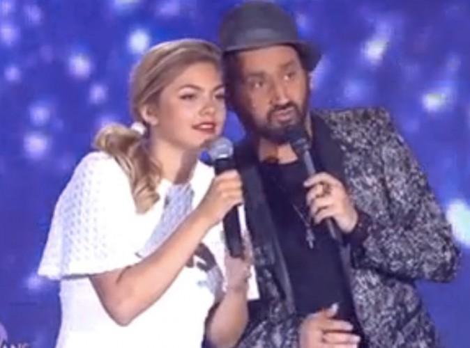 """Louane : interdite de """"Je vole"""" sur scène, elle laisse Cyril Hanouna en plan !"""