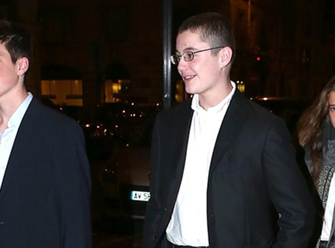 Louis Sarkozy : le fils de l'ancien président se rebelle en classe !