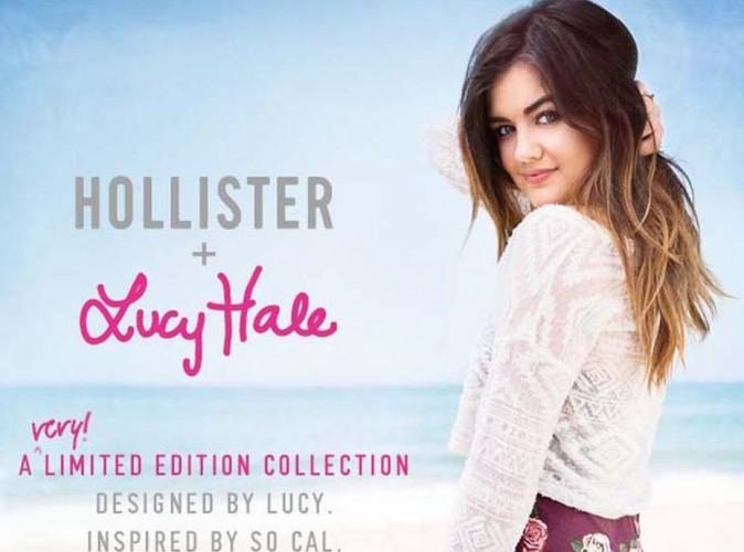 Lucy Hale : la star de Pretty Little Liars a dessiné une collection pour la marque de fringues Hollister !