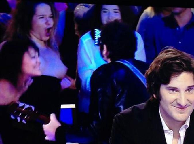 M : la spectatrice qui lui a montré ses seins était une comédienne !