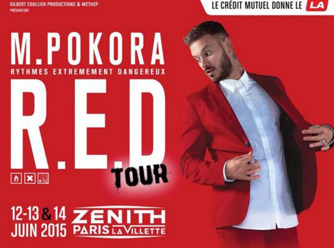 M. Pokora : il tease son RED Tour !