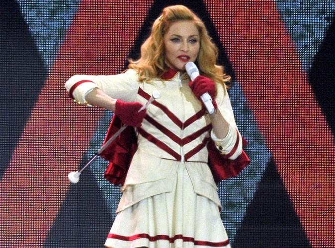 Madonna : elle a peur qu'on lui vole son ADN sur sa tournée !