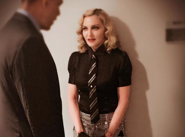 Madonna : Mais quel homme l'intimide autant?