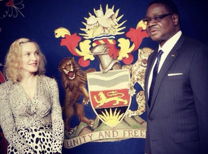 Madonna : recontre au sommet au Malawi !