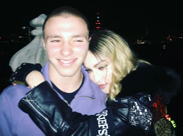 Madonna : sa déclaration d'amour à Rocco