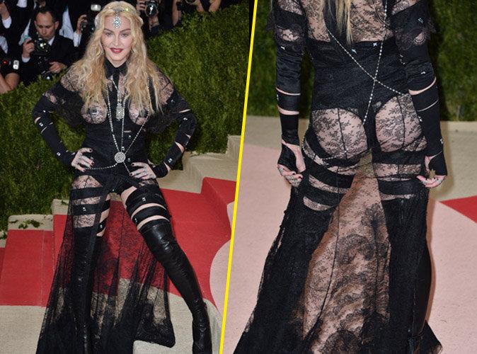 Madonna : sa tenue osée était un choix politique!