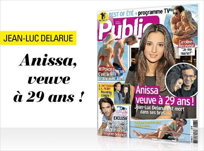 Magazine Public : Anissa Delarue, veuve à 29 ans en couv !