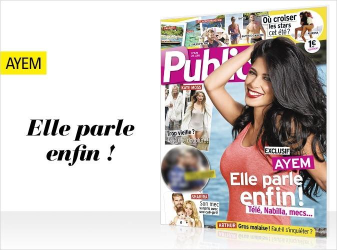 Magazine Public : Ayem en couverture !