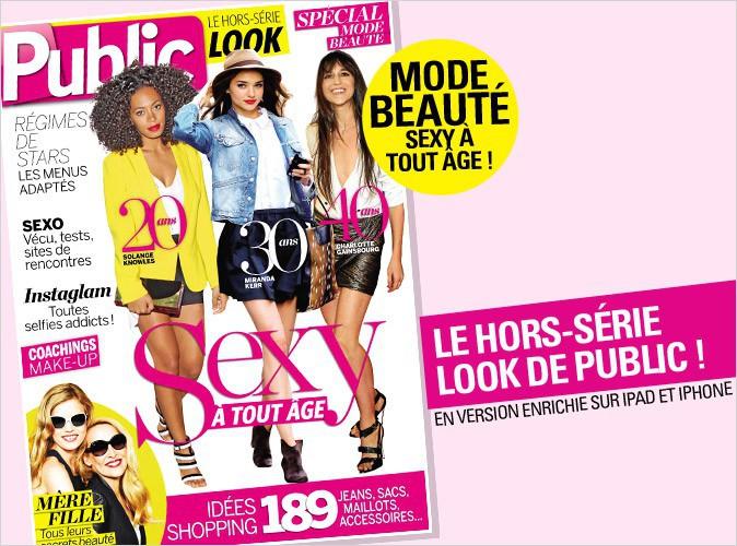 Magazine Public : découvrez notre hors-série spécial sexy à tout âge !