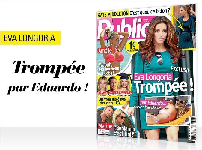 Magazine Public : Eva Longoria en couv !