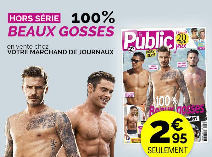 """Magazine Public : Hors-série spécial """"100% beaux gosses"""""""