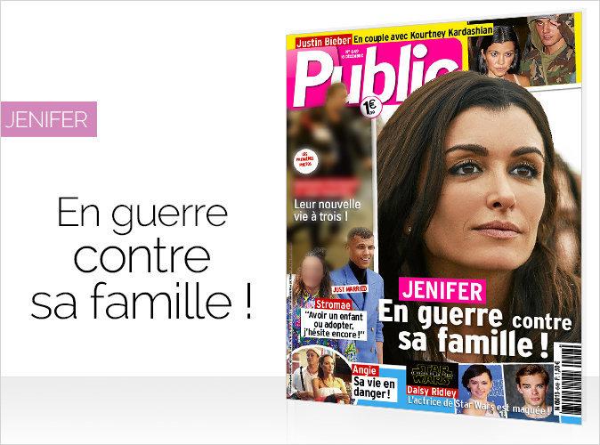 Magazine Public : Jenifer en guerre contre sa famille !