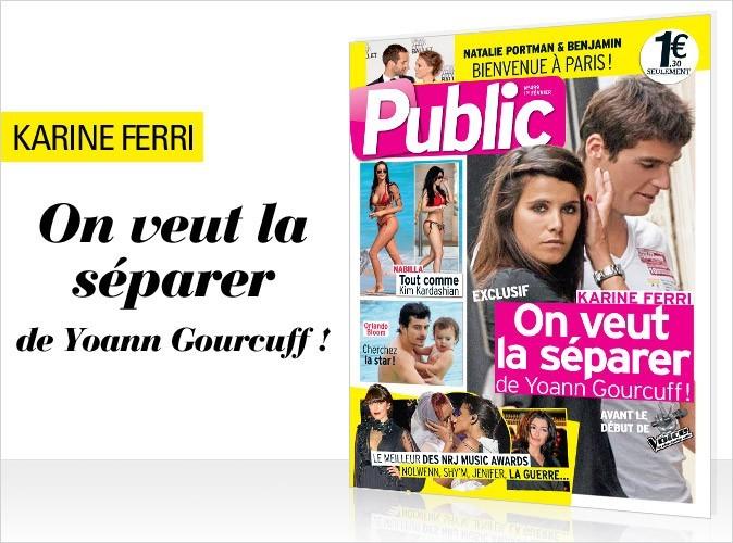 Magazine Public : Karine Ferri en couverture !