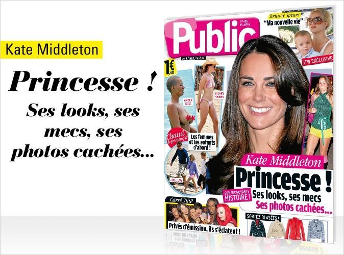 Magazine Public : Kate Middleton en couv !