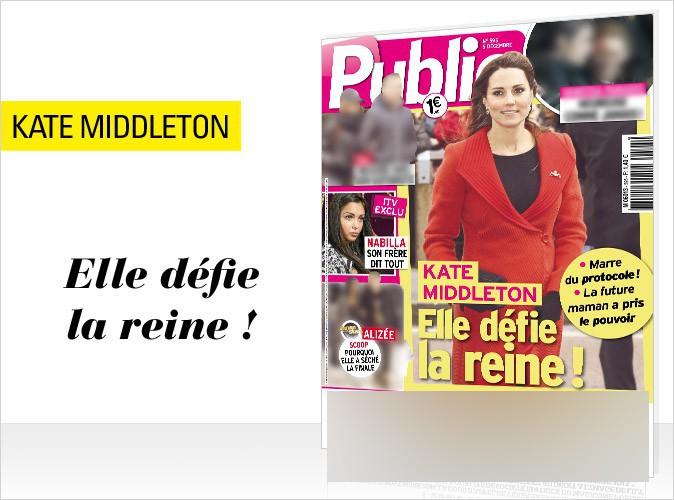 Magazine Public : Kate Middleton en couverture... Comment elle a pris le pouvoir !
