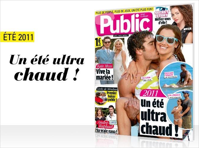 Magazine Public : l'été ultra chaud des stars en couv !