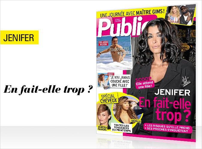 Magazine Public : la grossesse compliquée d'une chanteuse française en couverture !
