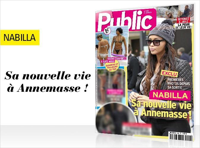 Magazine Public : Nabilla Benattia en couverture... Les premières photos de sa nouvelle vie à Annemasse !