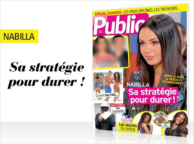 Magazine Public : Nabilla en couverture !